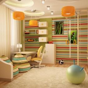детская комната 14 кв м фото варианты