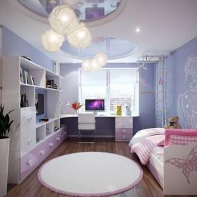 детская комната 14 кв м фото вариантов