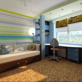 детская комната 14 кв м идеи варианты