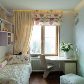 детская комната 14 кв м фото дизайна