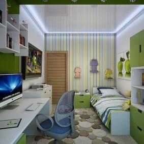 детская комната 14 кв м идеи виды