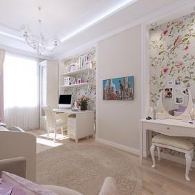 детская комната 14 кв м виды декора