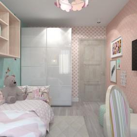 детская комната 14 кв м виды оформления