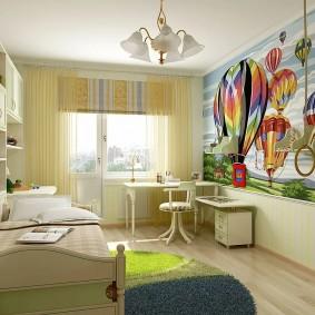 детская комната 14 кв м дизайн идеи