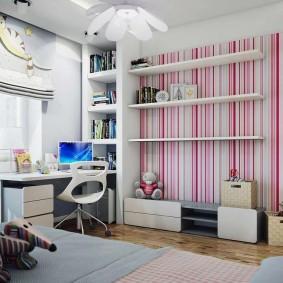 детская комната 14 кв м идеи дизайна
