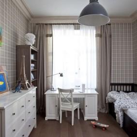 детская комната 14 кв м декор фото