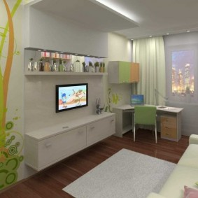 детская комната 9 кв м идеи дизайн