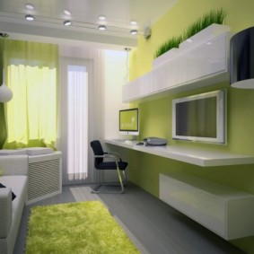 детская комната 9 кв м идеи декор
