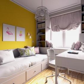 детская комната 9 кв м идеи декора