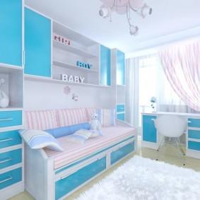 детская комната 9 кв м идеи оформления