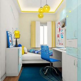 детская комната 9 кв м фото вариантов