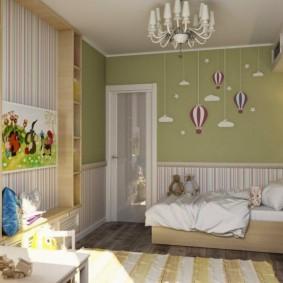 детская комната 9 кв м виды идеи