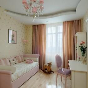 детская комната 9 кв м обзор