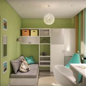 детская комната 9 кв м виды дизайна