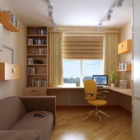 детская комната 9 кв м дизайн идеи