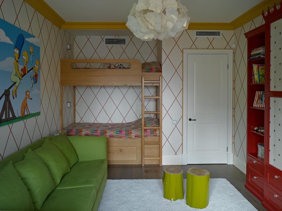 Интерьер комнаты для мальчиков школьного возраста