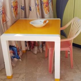 детские столики со стульчиком фото