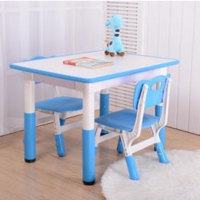 детские столики со стульчиком декор
