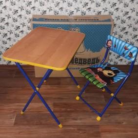 детские столики со стульчиком декор фото