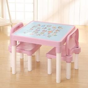 детские столики со стульчиком фото декор