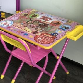 детские столики со стульчиком идеи декор