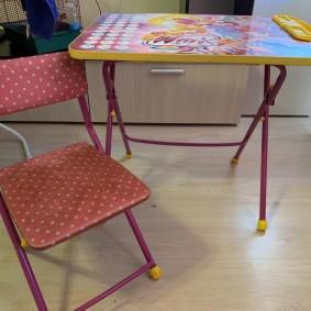 детские столики со стульчиком идеи