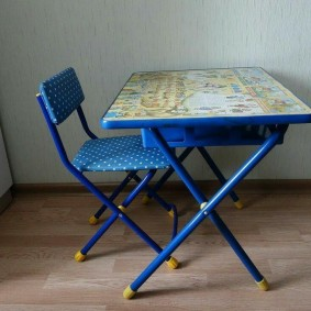 детские столики со стульчиком фото интерьера