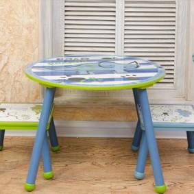 детские столики со стульчиком оформление фото