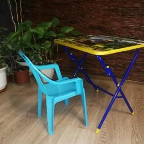 детские столики со стульчиком идеи фото