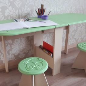 детские столики со стульчиком фото вариантов