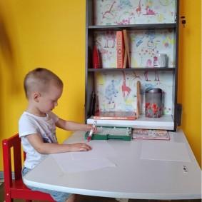 детские столики со стульчиком варианты идеи