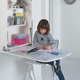 детские столики со стульчиком идеи вариантов