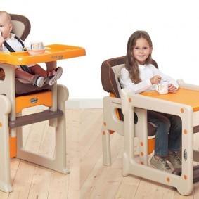 детские столики со стульчиком виды