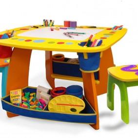 детские столики со стульчиком виды фото