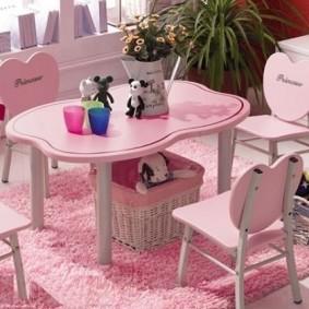 детские столики со стульчиком фото виды