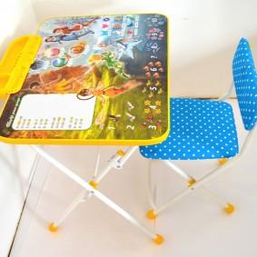 детские столики со стульчиком виды оформления