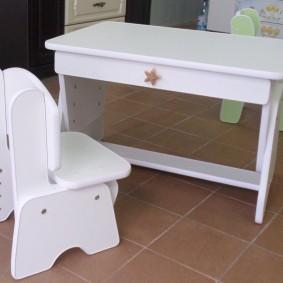 детские столики со стульчиком дизайн