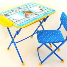 детские столики со стульчиком дизайн фото