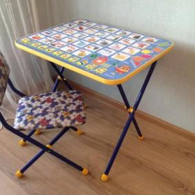 детские столики со стульчиком фото дизайн
