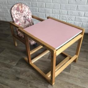 детские столики со стульчиком дизайн идеи