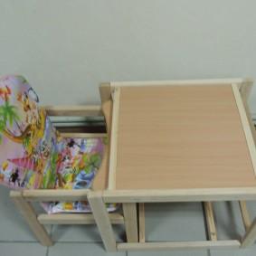 детский деревянный стульчик варианты идеи