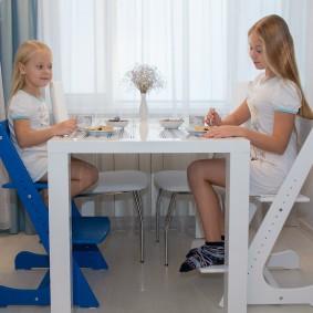 детский деревянный стульчик идеи варианты