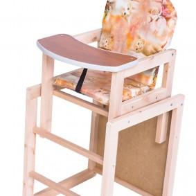 детский деревянный стульчик виды фото