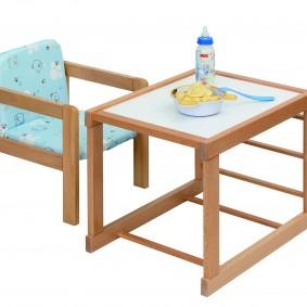детский деревянный стульчик фото видов