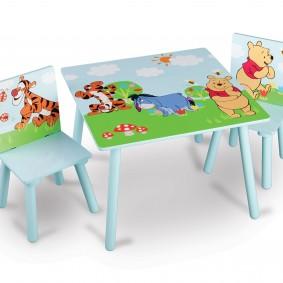 детский деревянный стульчик фото