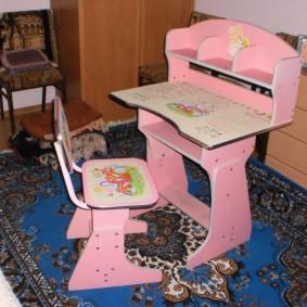 детский деревянный стульчик идеи виды