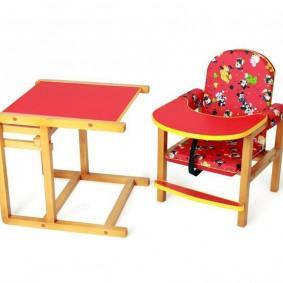 детский деревянный стульчик фото оформления