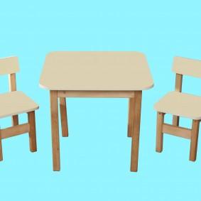 детский деревянный стульчик фото дизайн