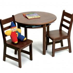 детский деревянный стульчик идеи дизайна