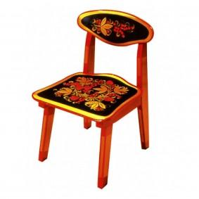 детский деревянный стульчик фото декора